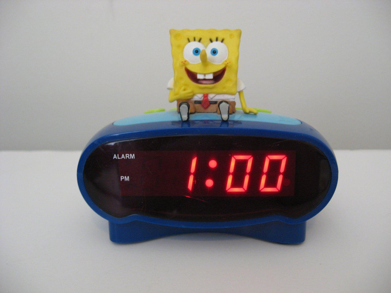 Children's Spongebob Squarepants Digital Alarm Clock