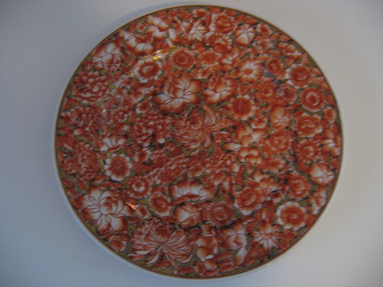 Vintage Hand Painted Decorative Porcelain Plate