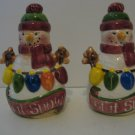 Let It Snow -  Snowmen  Salt & Pepper Shakers