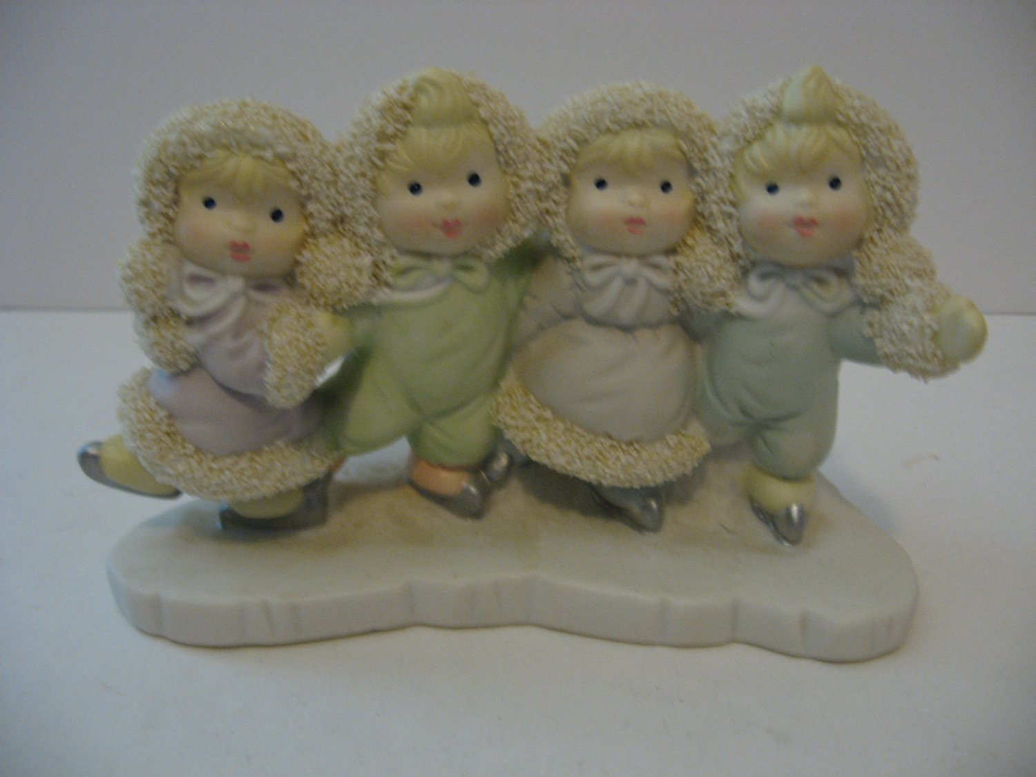 Ice Skating Snow Babies Figurine