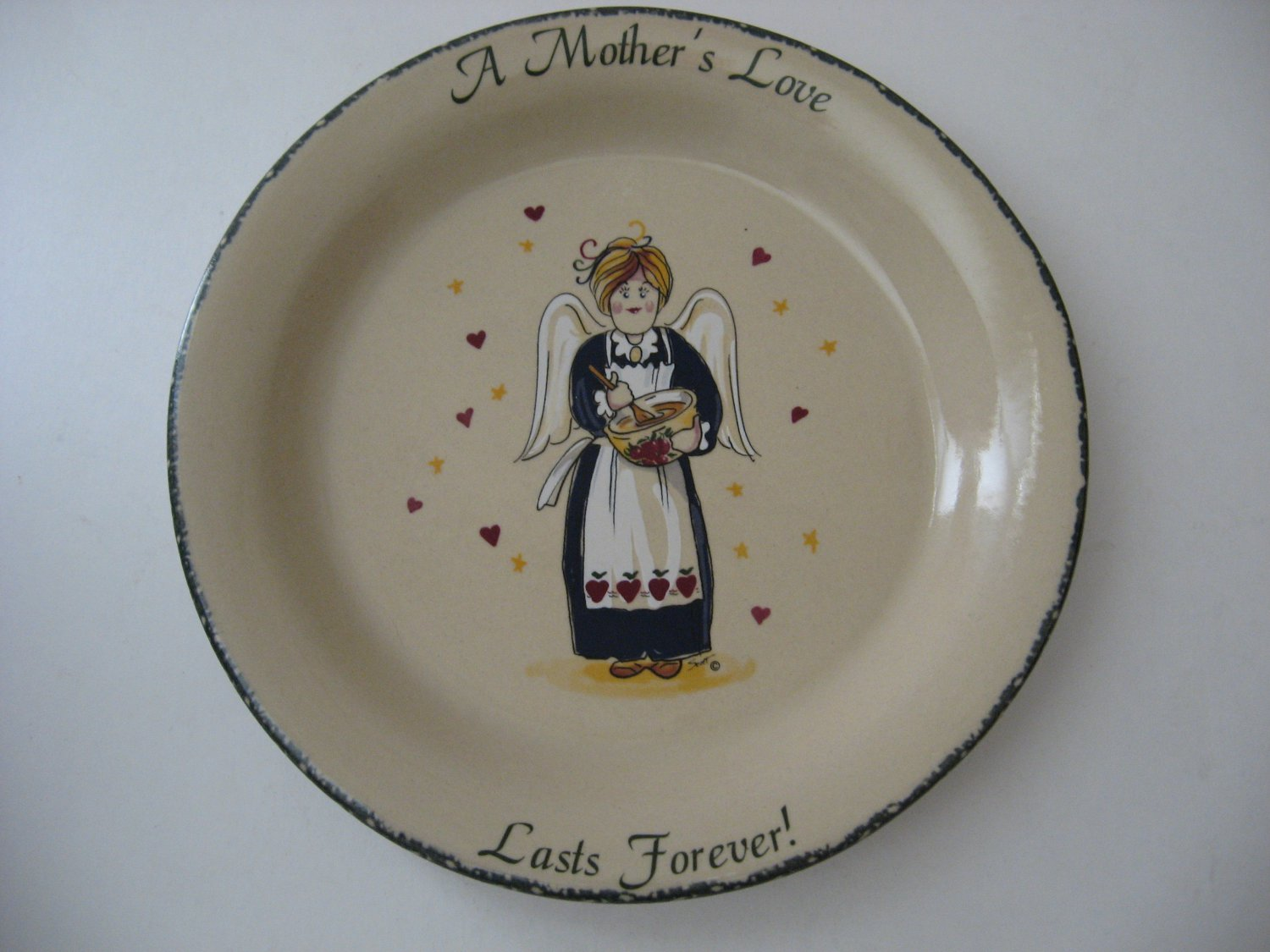Mother's Love Angel - 10.5 Plate