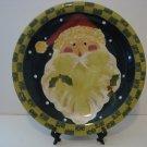 11' Santa Face Plate Designed by Becca Barton