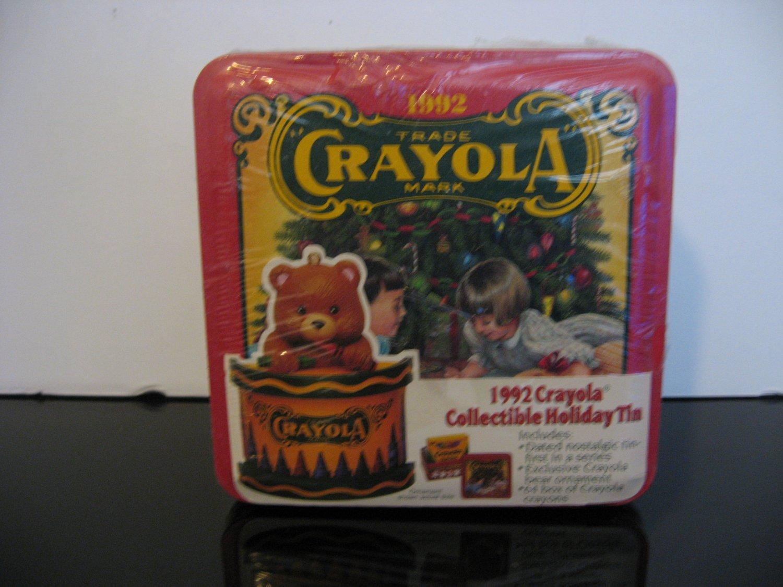 1992 - Crayola Collectible Holiday Tin - New!