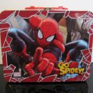"Spiderman ""GO SPIDEY""  Lunch Box Tin"
