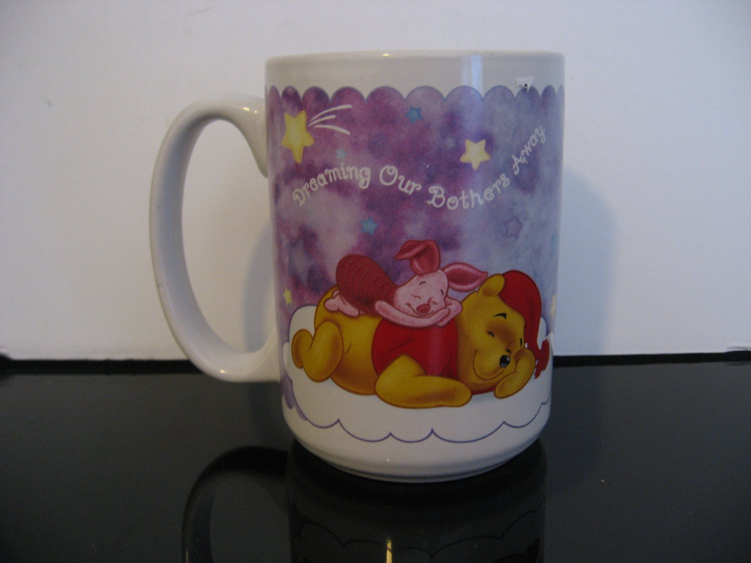 "Disney Mug -  Winnie, Tigger and Piglet - ""Dreaming Our Bothers Away"""