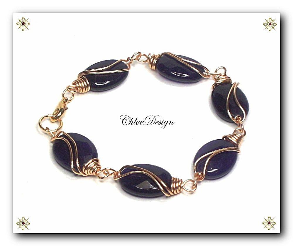 diy pdf tutorial Wire Wrapping Jewelry Bracelet,gemstone,amethyst,gilt,Wicca,Reiki