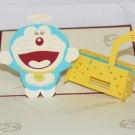 3D PopUp Handmade Doremon Card US Seller Love Pop Card