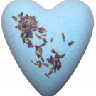 Lavender Megafizz Bath Heart Bath Bomb