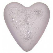 Glitter Musk Megafizz Bath Heart Bath Bomb