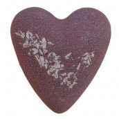 After Dark Chocolate Megafizz Bath Heart Bath Bomb