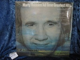 Marty Robbins' All-Time Greatest Hits - 33 RPM Vinyl LP