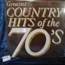 Greatest Country Hits of the 70's - Various Artist - 33 RPM Vinyl LP