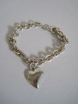 Silver Plated Heart Bracelet~Lot of 24