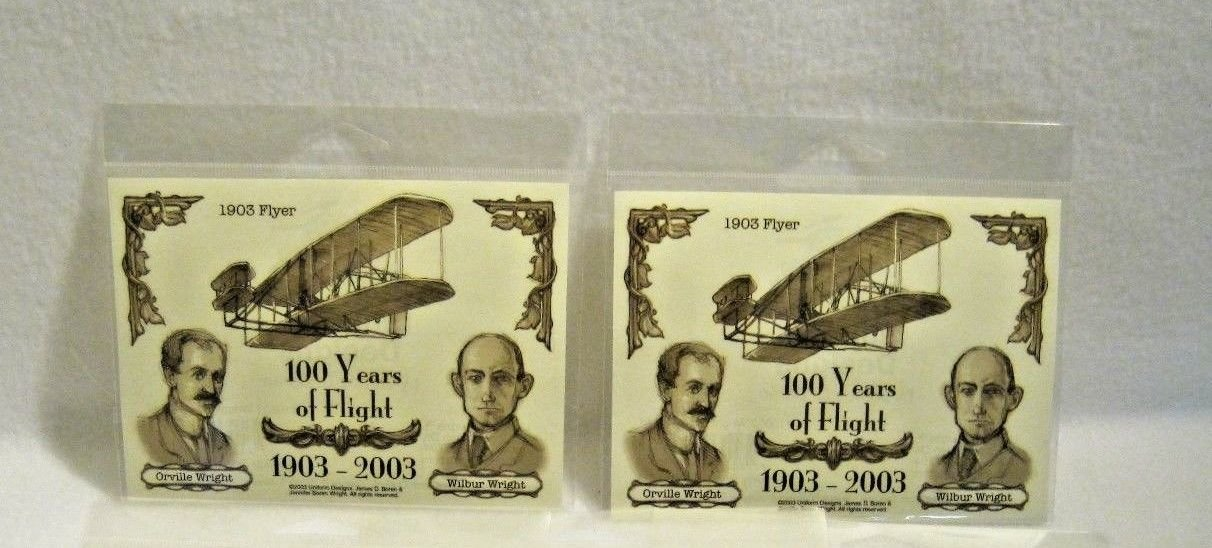 Wright Brothers 100 Years of Flight 1903 to 2003