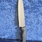 Imperial Chef Knife - Stainless Blade with Black Handle
