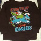 "Boys Pullover ""Stunt Pilot Flying Eagles"" Sweatshirt ""Garanimals"" 4T"