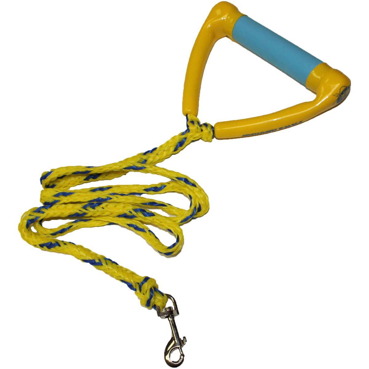 Water Ski Rope Leash Yellow/ Blue
