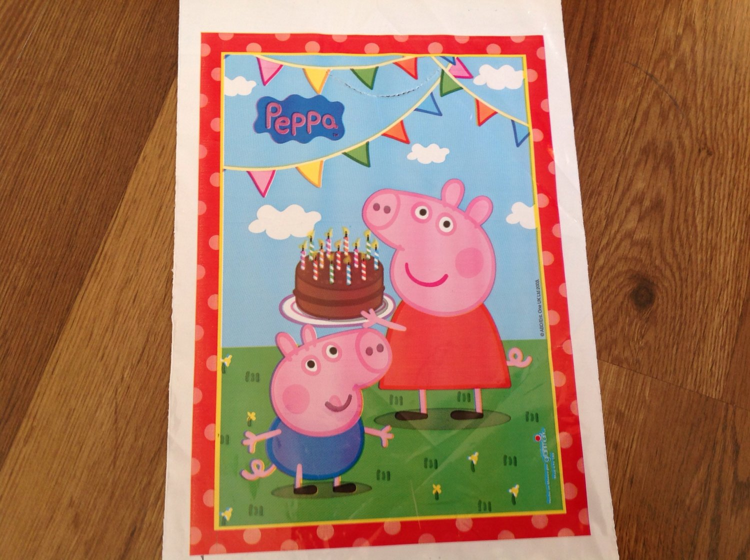 Peppa Pig 25 Pc Birthday Party Loot Candy Bags for party favors