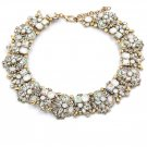 Fashion beautiful white crystal necklace