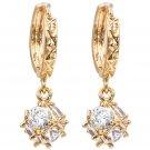 Fashion pendant crystal ball earrings