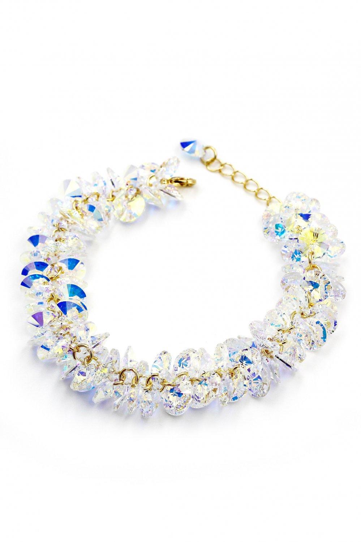 Sparkling fashion swarovski crystal bracelet