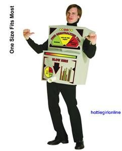Breathalyzer Machine Mens Adult Halloween Costume