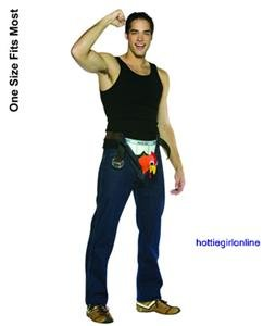 Rock Out w/Cock Out Mens Adult Halloween Costume