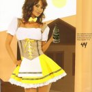 Bavarian Maiden Beer Girl Womens Halloween Costume