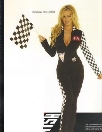 NASCAR Race Car Jumpsuit Womens Halloween Costume