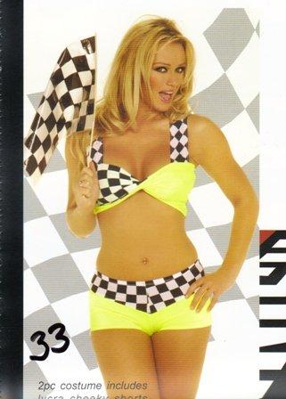 NASCAR Race Car Womens Halloween Costume