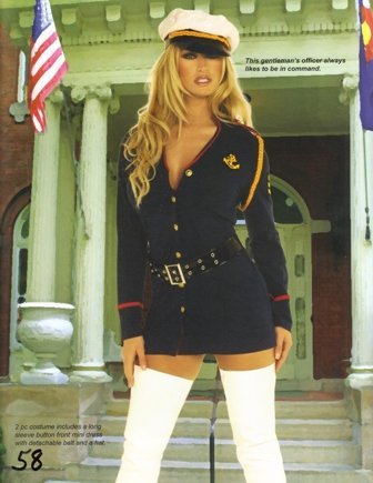 Gentleman's Officer Womens Halloween Costume