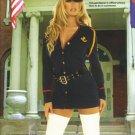 Gentleman's Officer Womens Halloween Costume