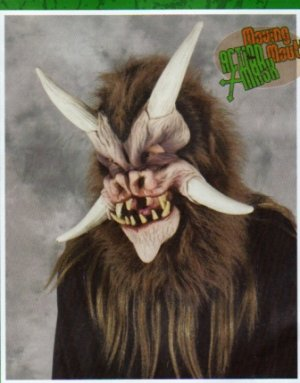 Deamonic Moving Mouth Halloween Mask