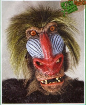 BaBOON Moving Mask Halloween Mask