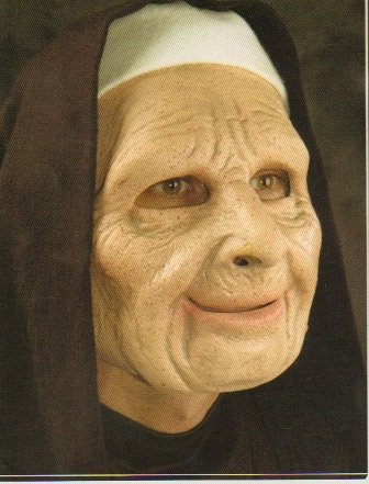 Nun For You Halloween Mask