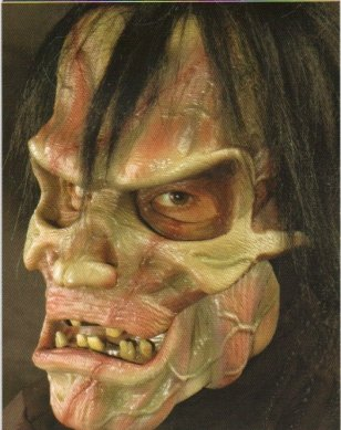 Created Man Action Halloween Mask