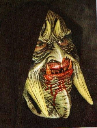 Fear Hooded Halloween Mask