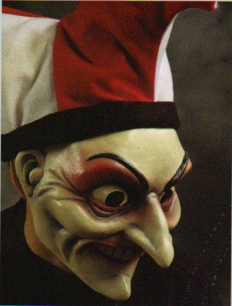 Jester Bob-O Halloween Mask