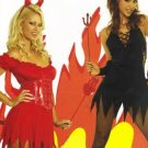 Sexy Devil Womens Vinyl Halloween Costume