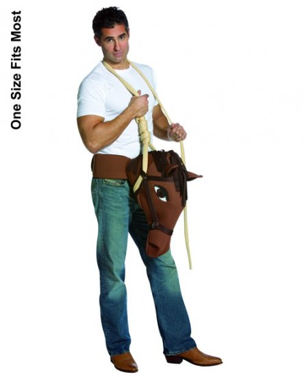 Hung Like A Horse Men's Halloween Costume