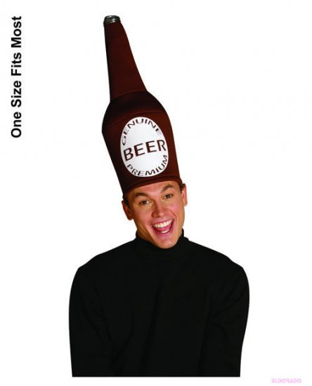 Beer Bottle Hat Halloween Costume