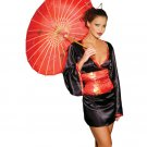 plus size geisha oriental doll adult womens costume