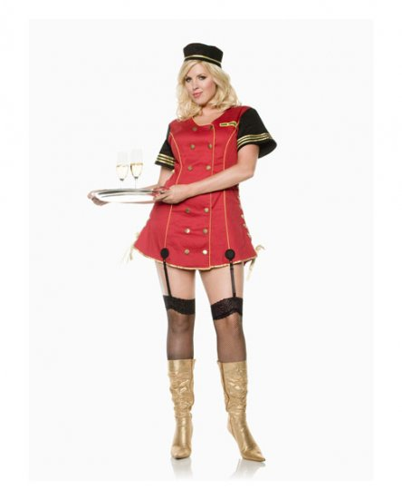 plus size room service womens costume