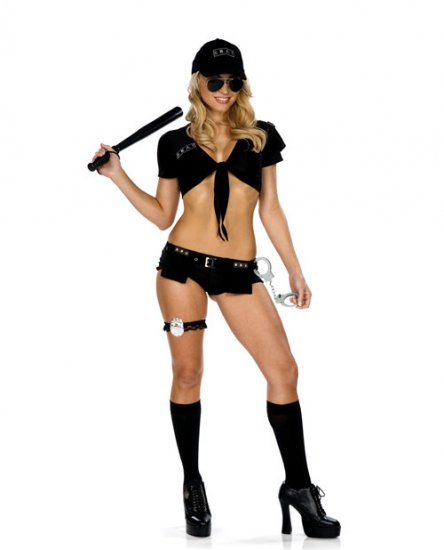 swat team special forces cop womens costume