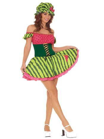 SWEET Watermelon Girl Costume Fantasy
