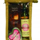 large size earthly body gift bag in skinny dip scent
