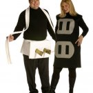 Plug and Socket Couples Outfit Plus Size