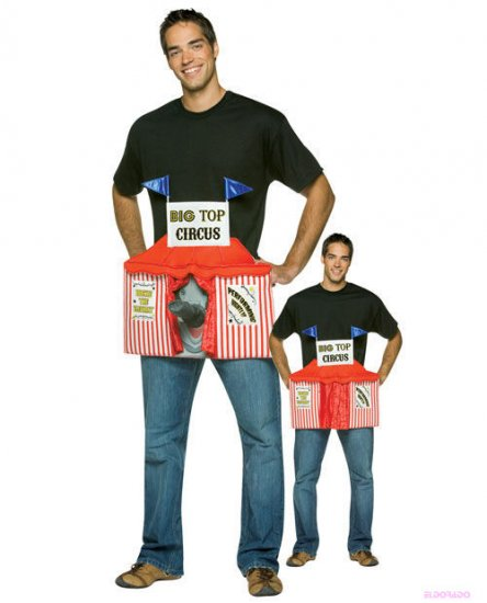 Big Top Circus Mens Adult Halloween Costume