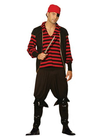 Pirate Mens Adult Halloween Costume