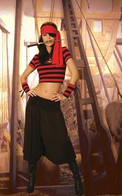 Mistress Pirate Womens Adult Halloween Costume